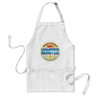Monster Totally Adult Apron