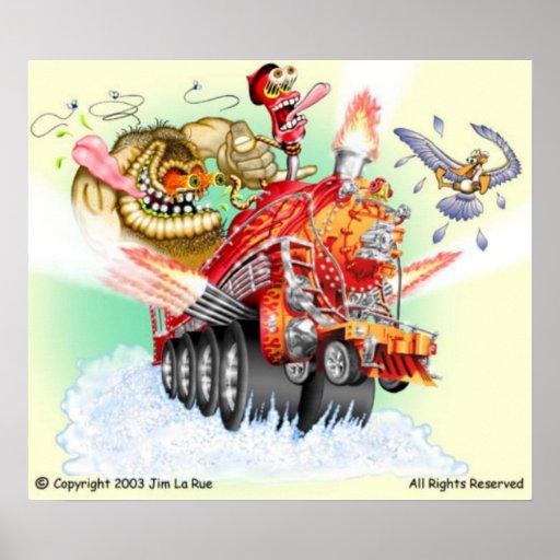 Monster Train Poster
