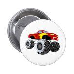 Monster Truck 2 Inch Round Button