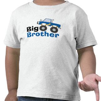 Monster truck azul hermano mayor camisetas
