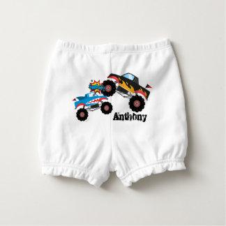 Monster Truck Baby Diaper Cover
