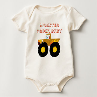 Monster Truck Baby Infant Organic Creeper