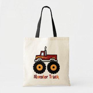 Monster Truck Canvas Bag