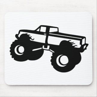 monster truck big car pick up mouse pad