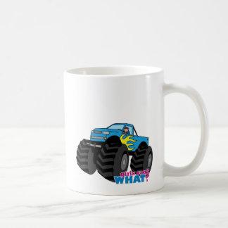 Monster Truck - Blue Coffee Mug