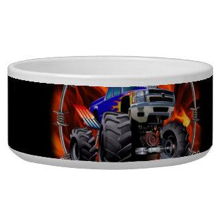 Monster Truck blue on Fire Bowl