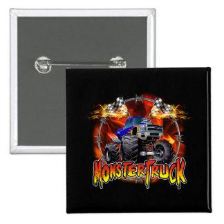 Monster Truck blue on Fire Button