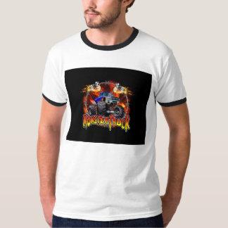 Monster Truck blue on Fire T-Shirt