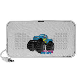 Monster Truck - Blue Mp3 Speakers