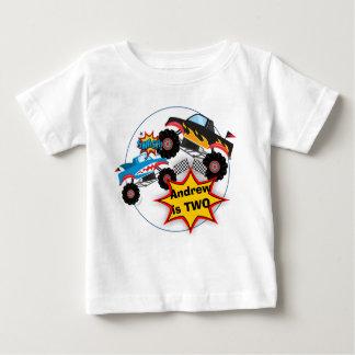 Monster Truck Boys Birthday Shirt