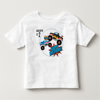Monster Truck Boys Birthday Shirt