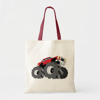 Monster Truck Budget Tote Bag