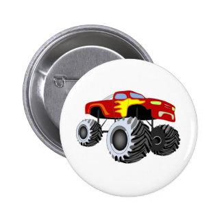 Monster Truck Button