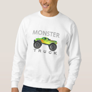 Monster Truck by NetAlloy Sweatshirt