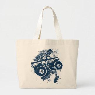 Monster Truck Canvas Bags