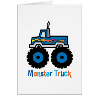 Monster Truck Greeting Cards