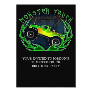 Monster truck card