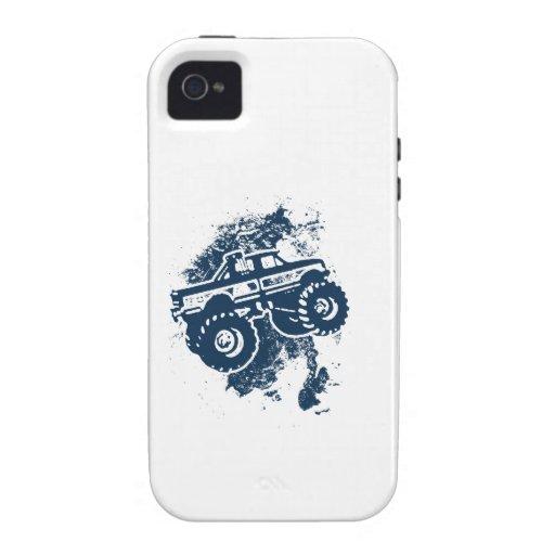 Monster truck Case-Mate iPhone 4 fundas
