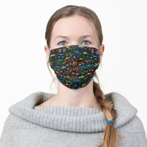 Monster Truck Cloth Face Mask