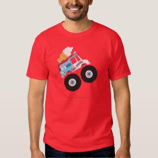 Monster truck del helado poleras