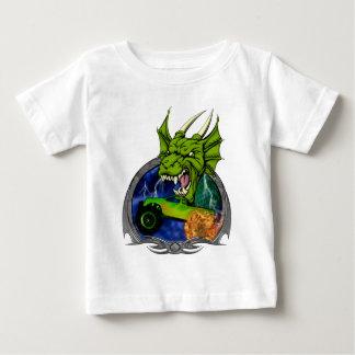 Monster Truck Dragon Baby T-Shirt