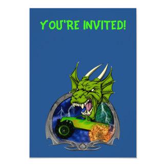 Monster Truck Dragon Card
