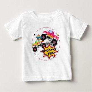 Monster Truck Girls Birthday Shirt