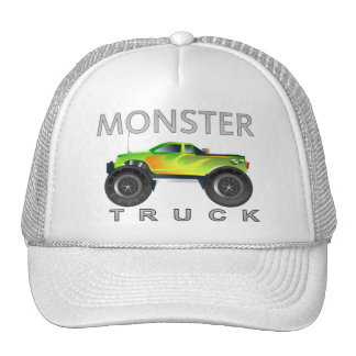 Monster truck hats by netalloy