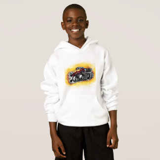 Monster Truck Hoodie for Boys