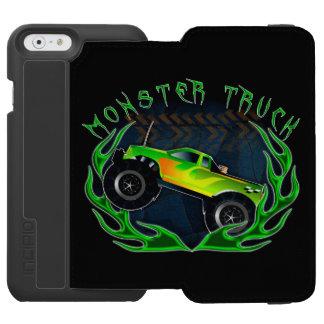 Monster truck iPhone 6/6s wallet case