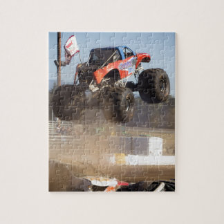 Monster Truck Jumping Jigsaw Puzzle