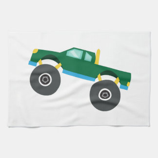 Monster Truck Kitchen Towels