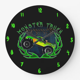 Monster Truck Art Wall Decor Zazzle