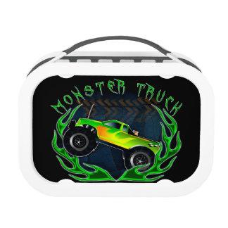 Monster truck lunch box