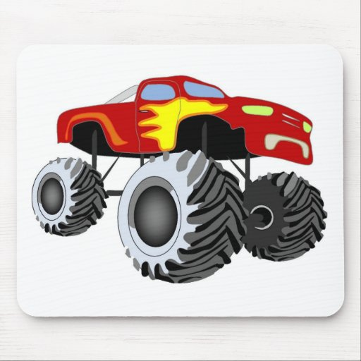 Monster Truck Mouse Pad