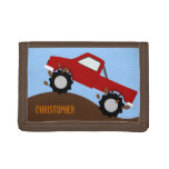 Monster Truck Personalized Wallet