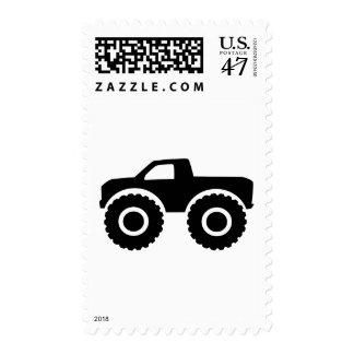 Monster truck postage