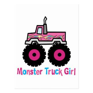Monster truck postales