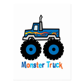 Monster Truck Postcard
