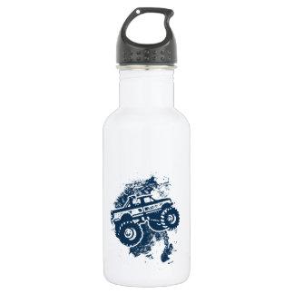 Monster Truck Stainless Steel Water Bottle