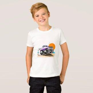 Monster Truck T Shirt for Boys