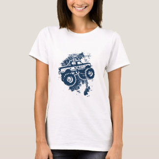 Monster Truck T-shirt Women's Tee Shirt