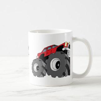 Monster truck taza de café