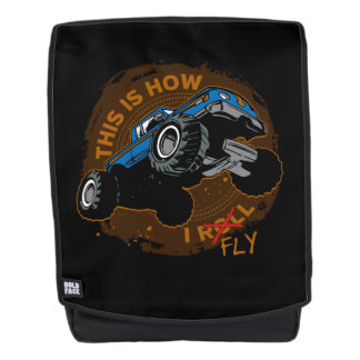 Monster Truck This is How I Fly Backpack
