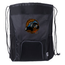 Monster Truck This is How I Fly Drawstring Backpack