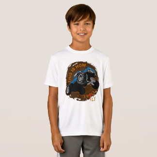 Monster Truck This is How I Fly T-Shirt
