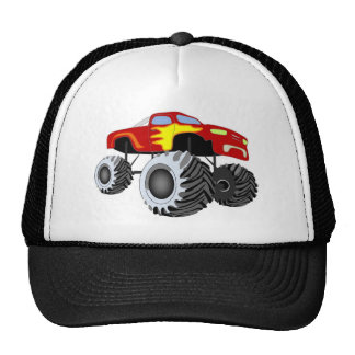 Monster Truck Trucker Hat