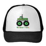 Monster truck verde gorro de camionero