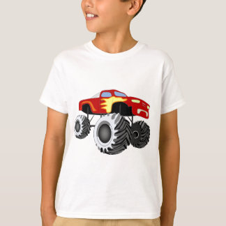 Monster Truck with Flames T-Shirt