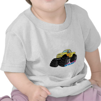 Monster Truck - Yellow Tee Shirts